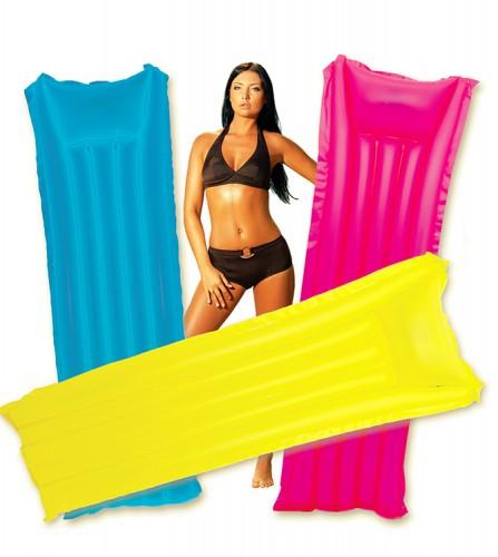 PREZZI DI VENDITA ONLINE OFFERTA Materassino basic 5 tubi 3 colori assortiti arancio giallo rosa 183X69 cm