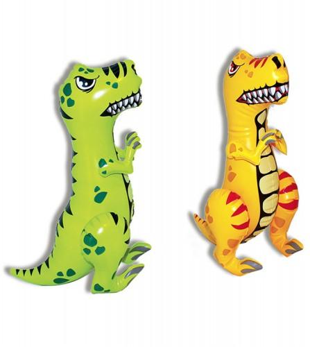 PREZZI DI VENDITA ONLINE OFFERTA Mini-dinosauro t-rex gonfiabile 2 assortiti 40 cm