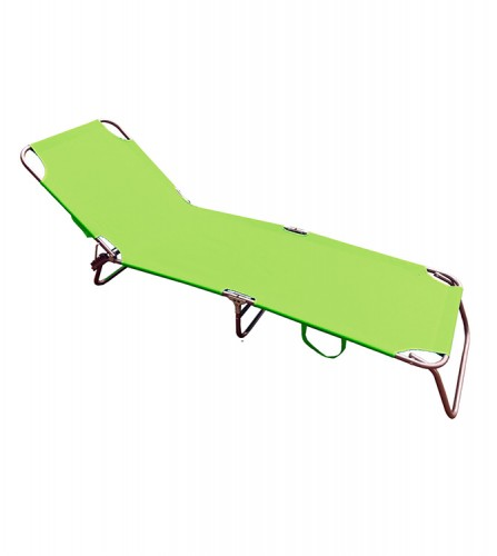 PREZZI DI VENDITA ONLINE OFFERTA Lettino pieghevole verde 600D 187X55X27 cm