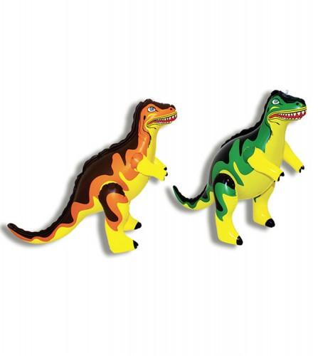 PREZZI DI VENDITA ONLINE OFFERTA Dinosauro-tirannosauro gonfiabile 2 assortiti