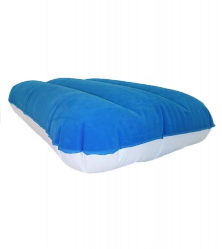 PREZZI DI VENDITA ONLINE OFFERTA Cuscino floccato bianco e blu 50X34 cm