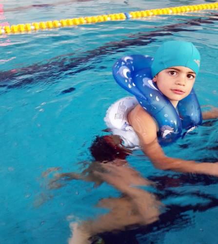 PREZZI DI VENDITA ONLINE OFFERTA Anello training gonfiabile fantasia delfini