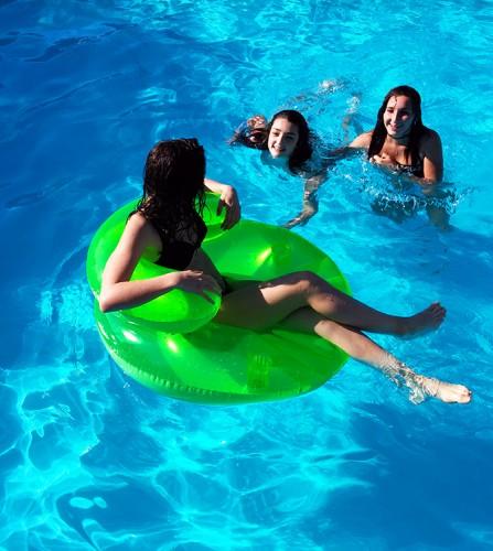 PREZZI DI VENDITA ONLINE OFFERTA Seduta in acqua oister 2 colori assortiti giallo verde 91 cm
