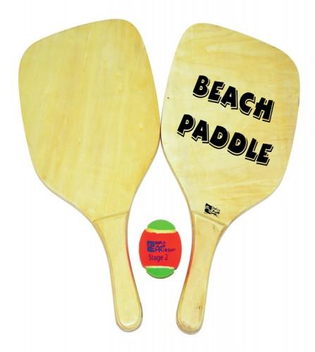 PREZZI DI VENDITA ONLINE OFFERTA Set racchettoni beach paddle con pallina 40X30 cm